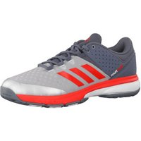 Adidas Court Stabil onyx/hi-res red/raw steel