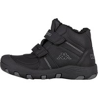 Kappa Solid Tex Kids black/grey