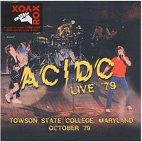 AC/DC - Live '79- Towson State College Maryland (Vinyl)