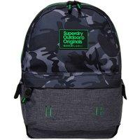 Superdry Camo Inter Montana Backpack black camo/grey