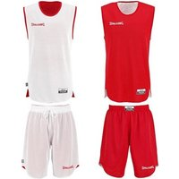 Spalding Double Face Kid Set Basketball red/white