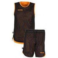 Spalding Double Face Kid Set Basketball orange/black