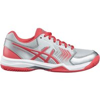 Asics Gel-Dedicate 5 Clay Women silver/rouge red/white