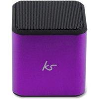 Kitsound Cube Bluetooth Speaker purple