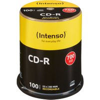 Intenso CD-R 700MB 80min 52x 100pk Spindle