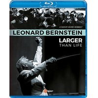 Bernstein:Larger Than Life [Various,Leonard Bernstein] [C Major Entertainment: BLU RAY] [Blu-ray] [NTSC]