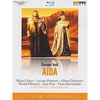 Verdi - Verdi:Aida [Maria Chiara; Luciano Pavarotti; Ghena Dimitrova; Juan Pons; Paata Burchuladze] [ARTHAUS: BLU RAY] [Blu-ray]