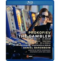 Prokofiev: The Gambler [Blu-ray] [2010] [Region Free]