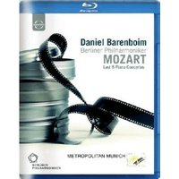 Berliner Philharmoniker - Daniel Barenboim plays Mozart's Piano Concertos [Blu-ray] [2012] [Region Free]