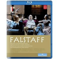 Verdi - Verdi: Falstaff [Salzburg Festival] [Wiener Philharmoniker, Zubin Mehta] [Euroarts Blu-ray] [2014] [Region Free]