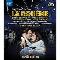 Puccini: La Bohème [Joachim Bäckström; Olesya Golovneva; Vladislav Sulimsky; Daniel Hällström; Christian Badea] [Naxos: NBD0059]