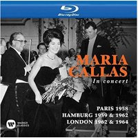 Maria Callas - Callas Toujours, Paris 1958 / in concert, Hamburg 1959 & 1962 / at Covent Garden, London 1962 & 1964 [Blu-ray] [2