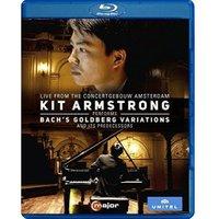 Johann Sebastian Bach: Kit Armstrong performs Bach's Goldberg Variations and its predecessors [Kit Armstrong; ] [C Major Enterta