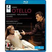 Verdi: Otello (Salzburg 2008) [Aleksandrs Antonenko, Marina Poplavskaya] [C Major: 725104] [Blu-ray] [2013] [Region Free] [NTSC]