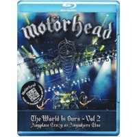 Motörhead - The World Is Ours - Vol 2 - Anyplace Crazy As Anywhere Else (Digipack) [Blu-ray] [2012] [Region Free]