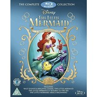 The Little Mermaid Collection [Blu-ray] [1989] [Region Free]