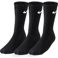 Nike Value Cotton Crew (3 Pack) black