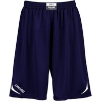 Spalding Attack Shorts marine/white