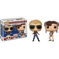 Funko Pop! Games - Marvel vs. Capcom: Captain Marvel vs Chun-Li