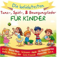 VARIOUS - Die beliebtesten Tanz-, Spiel- & Bewegungslieder für Kinder - (CD)