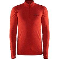 Craft Active Comfort Zip Longsleeve Shirt bolt/express