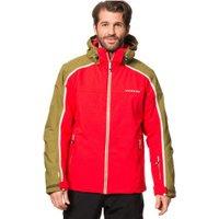 Dare2b Men's Immensity II Ski Jacket seville red/cardamon green