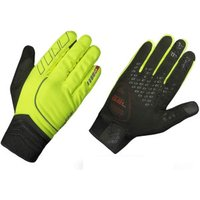 GripGrap Hurricane Hi Vis Gloves fluo yellow