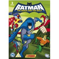 Batman - The Brave And The Bold: Volume 3 [DVD] [2010]