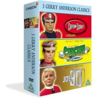 3 Gerry Anderson Classics - Supermarionation - Joe 90 / Captain Scarlet / Stingray [DVD] [1964]
