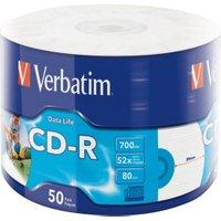 Verbatim CD-R 52x 700MB 50pcs Cakebox