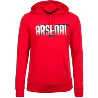 Puma Arsenal FC Fan Cannon Hoodie high risk red