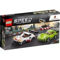 LEGO Speed Champions - Porsche 911 RSR and 911 Turbo 3.0 (75888)