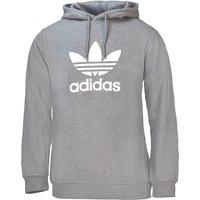 Adidas Trefoil Warm-Up Hoodie medium grey heather