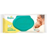 Pampers New Sensitive Baby Wipes