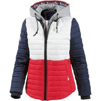 Superdry Pacific Sportjacket white/flare/red/navy