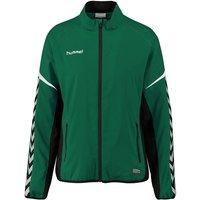 Hummel Authentic Charge Micro Zip Jaket W evergreen