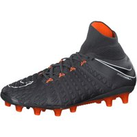 Nike Hypervenom Phantom III Elite DF AG-PRO dark grey/total orange/white