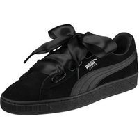 Puma Suede Heart En Pointe puma black/metallic beige