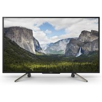 Sony Sony Bravia KDL43WF663 43-Inch Full HD HDR Smart TV with Freeview Play, Black