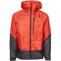 The North Face Men's Summit L5 Ultralight Storm Jacket fiery red/tnf black