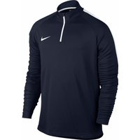 Nike Dri-FIT Academy Football Shirt with Zip obsidian/white