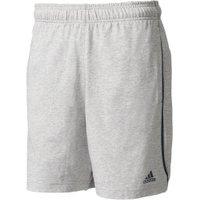 Adidas Essentials Chelsea 2.0 Shorts medium grey heather/collegiate navy