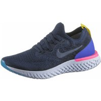 Nike Epic React Flyknit College Navy/Racer Blue/Pink Blast/College Navy