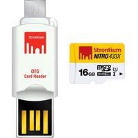 Strontium Nitro microSDHC 16GB (SRN16GTFU1T)