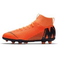 Nike Jr. Superfly VI Club MG orange total/orange total/volt/white