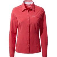 Craghoppers NosiLife Pro LS Shirt Women watermelon red
