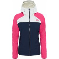 The North Face Women's Stratos Jacket urban navy/petticoat pink/vaporous grey