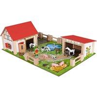 Eichhorn Farmyard And 12 Farm Figures