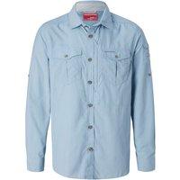 Craghoppers Nosilife Adventure LS Shirt fogle blue