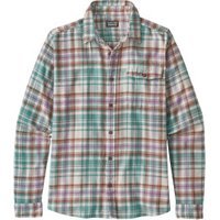 Patagonia Men's LS Lightweight Fjord Flannel Shirt rootsy: beryl green